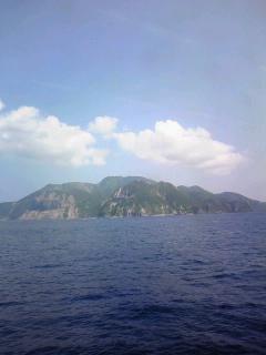 神津島よ、さようなら(泣)